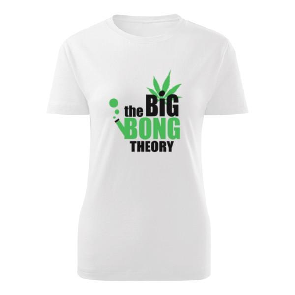 6fdc33b3598 Tričko s potiskem The Big Bong Theory dámske